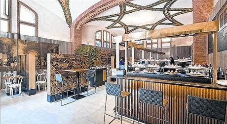 1902 Cafè Modernista. Cocina catalana en el recinto del hospital de Sant Pau.