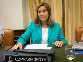 Ana Mato compareix en la comissió del Congrés que investiga la 'caixa b' del PP