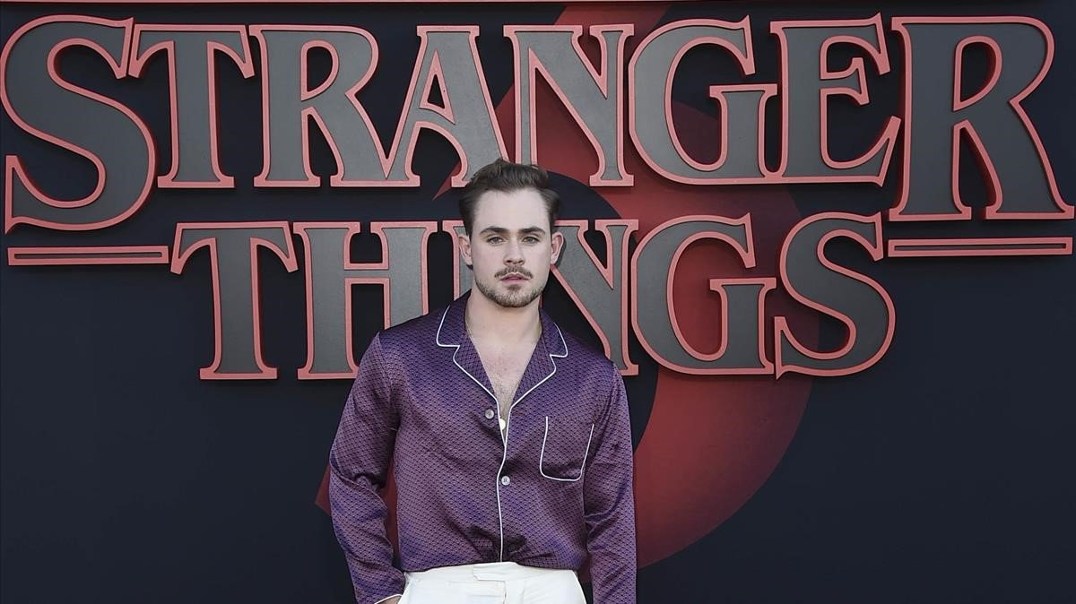 El actor de 'Stranger things' Dacre Montgomery.