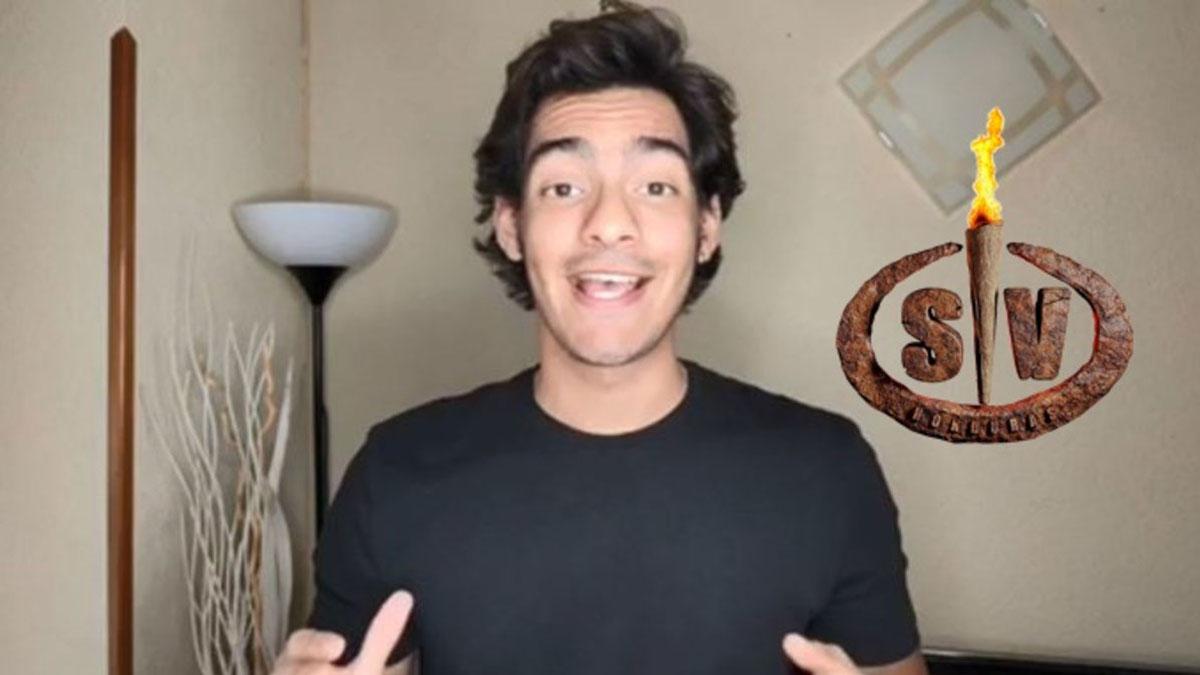 Alejandro Reyes, hijo de Ivonne Reyes, nuevo concursante de 'Supervivientes 2020'.