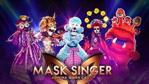Algunas de las máscaras de 'Mask Singer: adivina quién canta'.