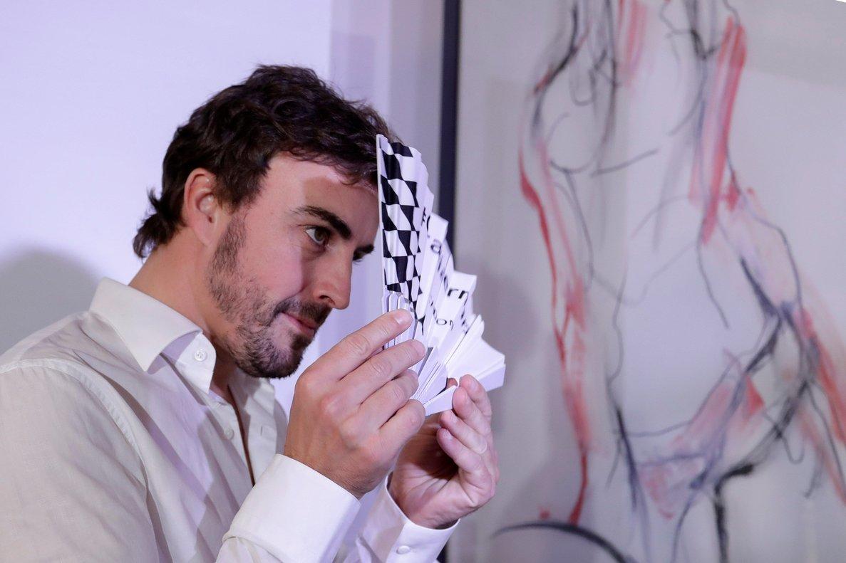 Fernando Alonso, el 7 de noviembre en Sao Paulo.