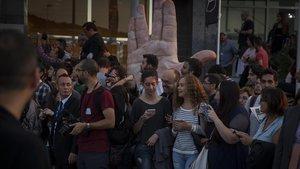 Ambiente de público en el Festival de Sitges