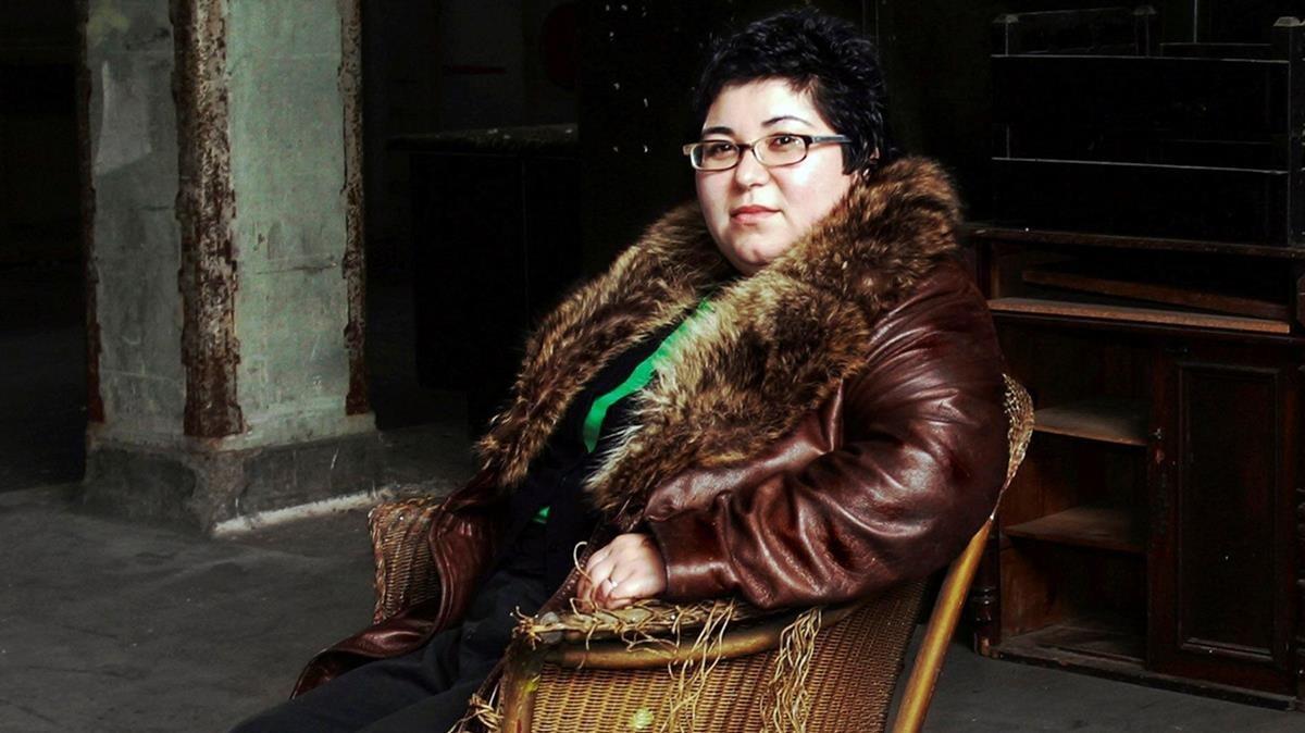 La artista gallega Ángela de la Cruz