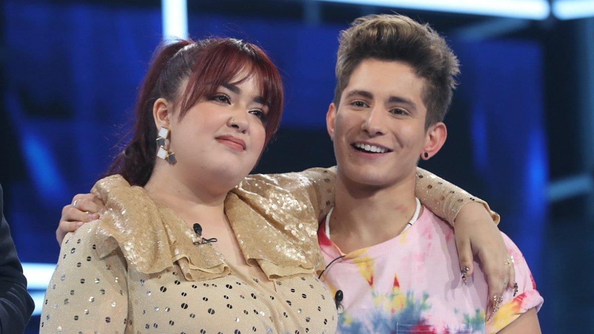 Ariadna y Nick, primeros nominados de 'OT 2020'.