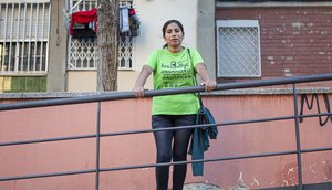Entrevista con Bertha, camarera de piso y también profesional del cuidado a personas.