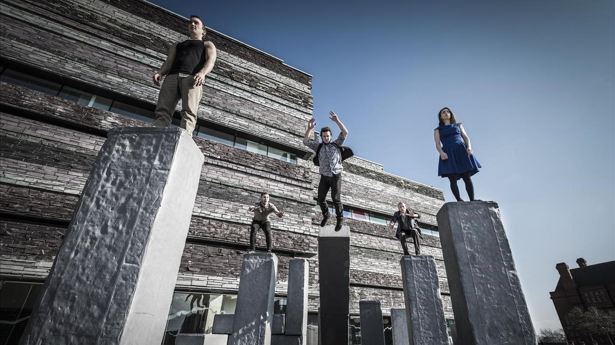 'Block': danza y circo, maridaje perfecto