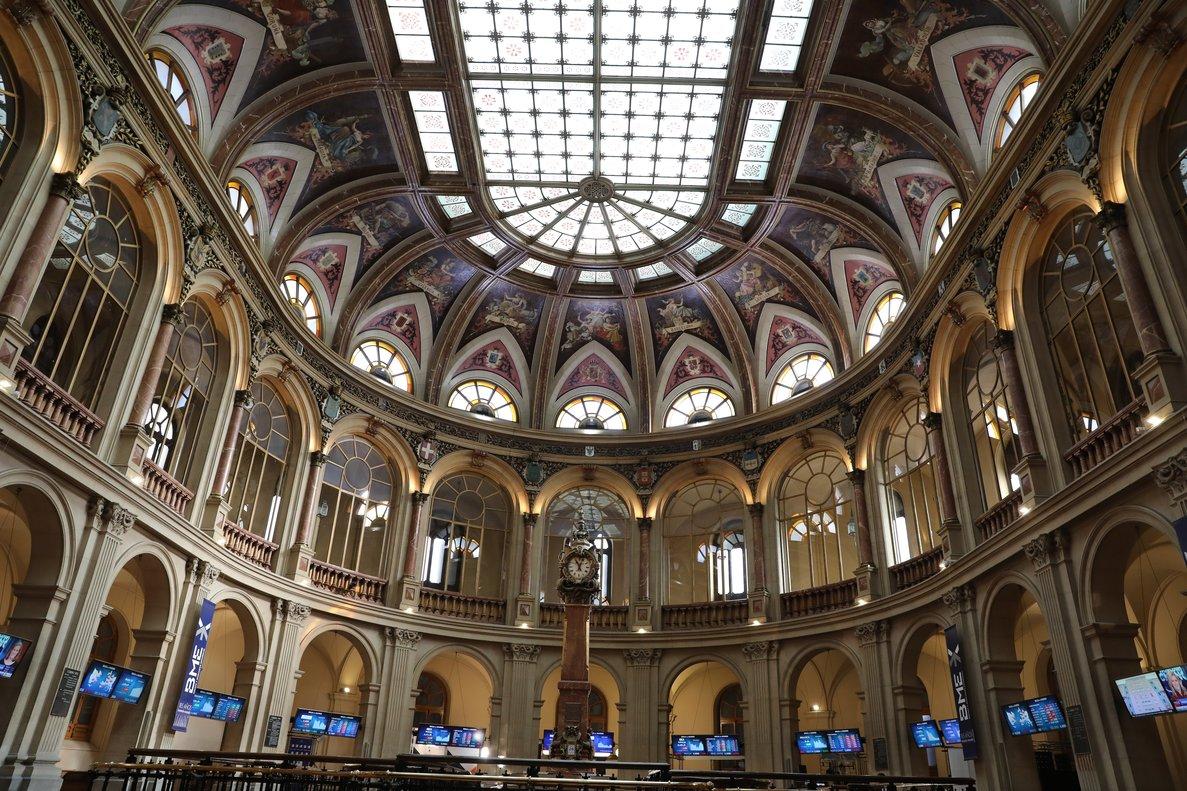 Imagen del palacio de la Bolsa de Madrid