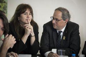 Laura Borràs, un 'bocata' més per a ERC