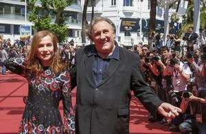 Gerard Depardieu, en Cannes.