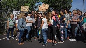 Vecinos en contra de la ubicación de un CAI para menas en el Fòrum