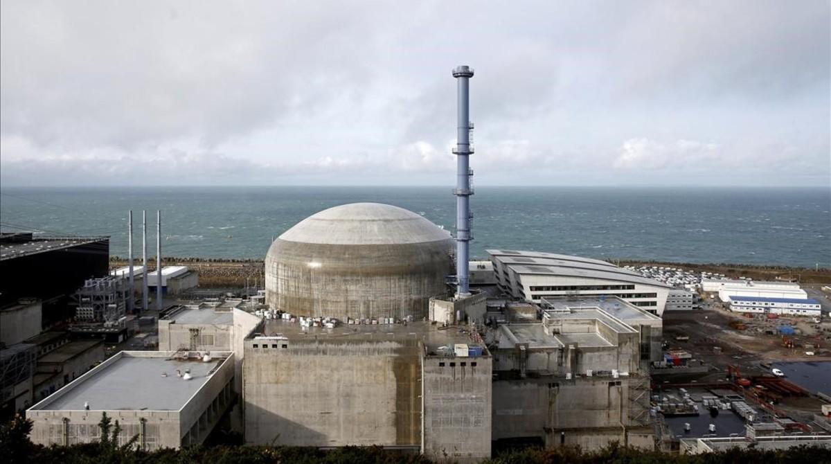 Central nuclear de Flamanville.