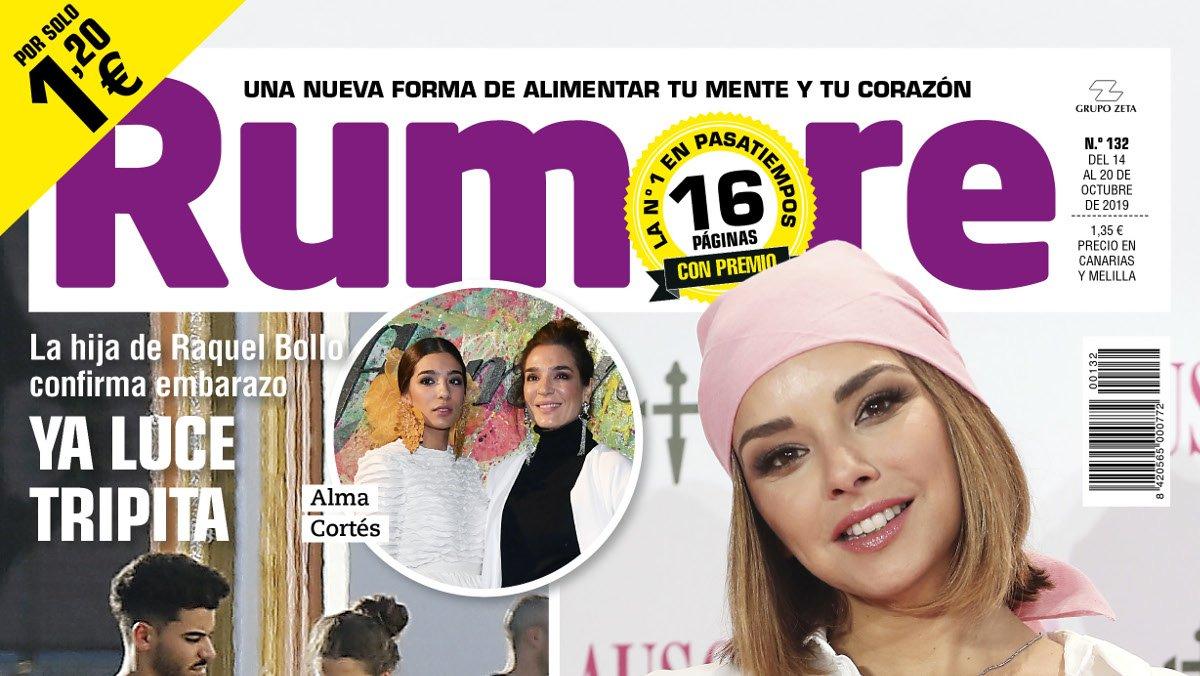 Chenoa, en la portada de 'Rumore'.