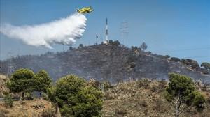 Registrats 32 incendis a Collserola en quatre mesos