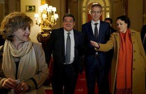 Les exministres Carcedo i Valerio presidiran comissions del Congrés