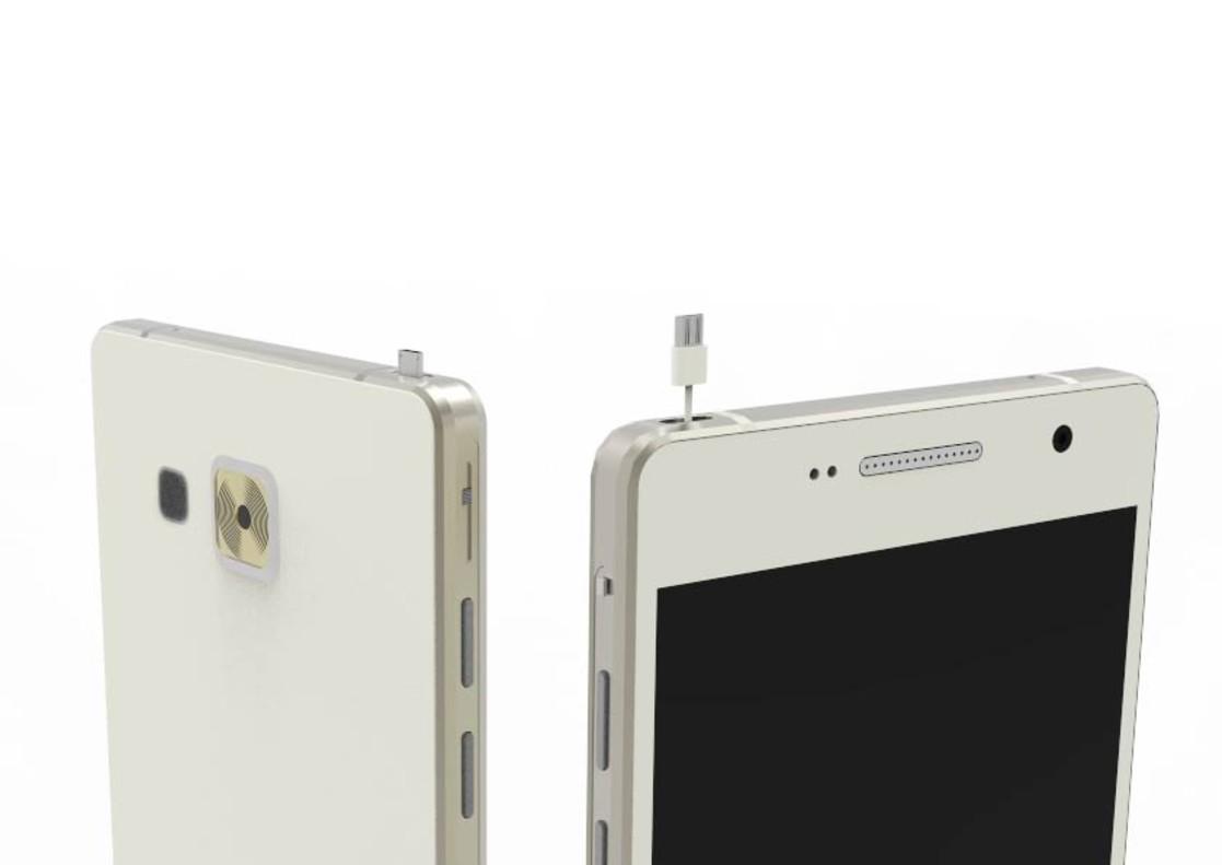 Con una simple clavija se pueden transferir datos y carga de móvil a móvil.