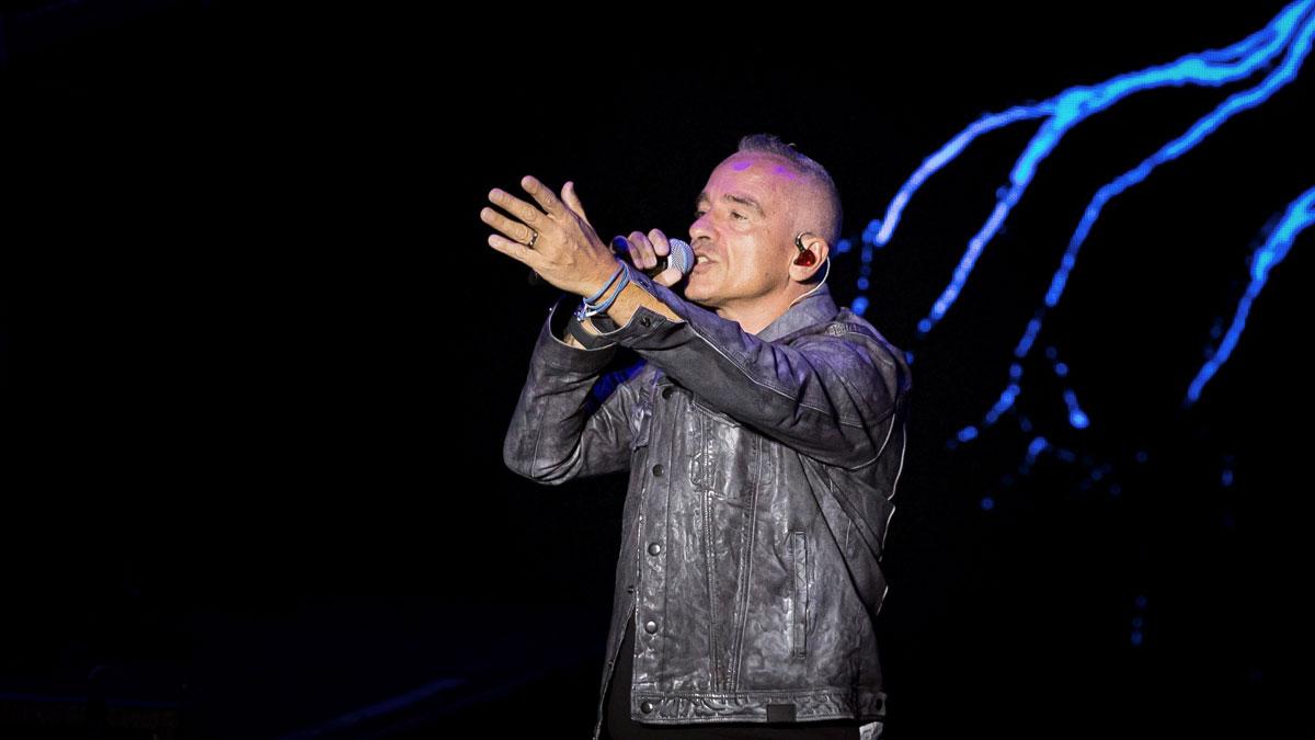 Concierto de Eros Ramazzotti en el Festival de Cap Roig.