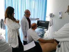 Una consulta médica.