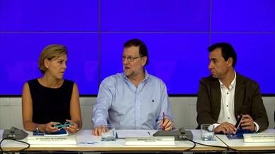 Rajoy, inquieto por las muestras de división en el PP