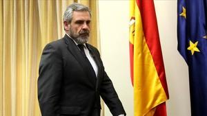 Daniel de Alfonso, exdirector de la Oficina Antifrau, en el Congreso, el 5 de abril del 2017