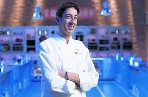 David García posa en el plató habitual del programa culinario.