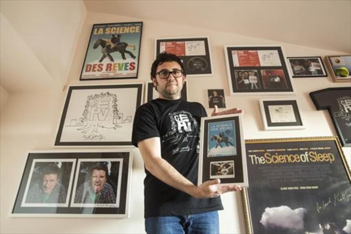 """David Montero: """"En mi casa, Gondry es dios"""""""
