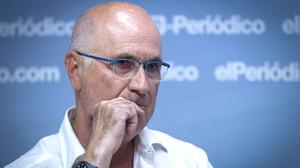 Duran i Lleida en una entrevista per a EL PERIÓDICO.