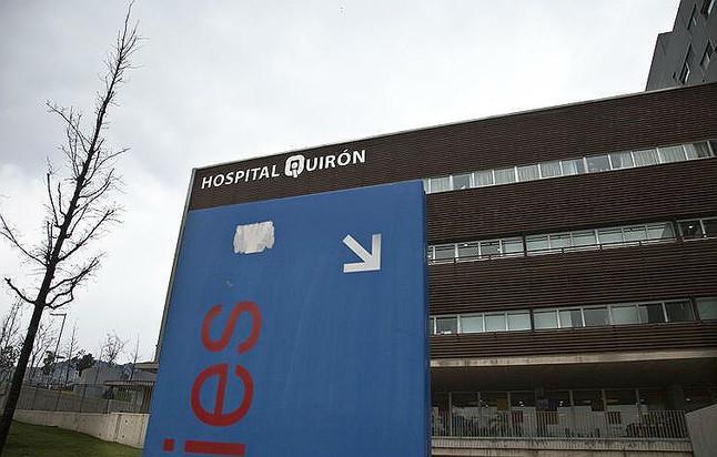El edificio de la clínica Quirón de Barcelona.
