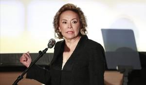 Elba Esther Gordillo exdirigente del Sindicato Nacional de Trabajadores de la Educacion.