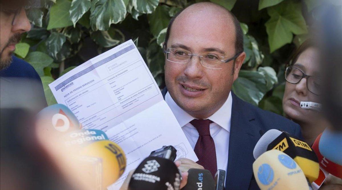 El expresidente de Murcia, Pedro Antonio Sánchez.