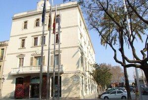 Fachada del Ayuntamiento de Sant Boi de Llobregat.