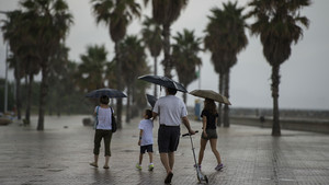Catalunya, en prealerta per la previsió de pluges fortes avui i demà