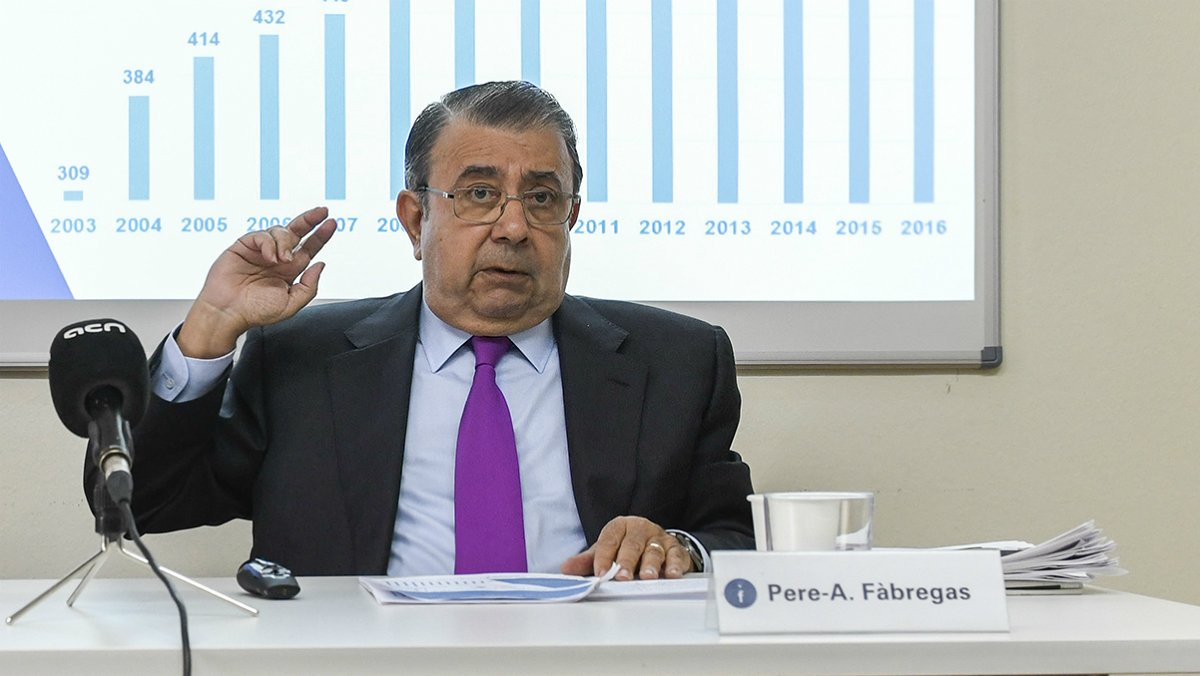 Pere A. Fàbregas, presidente de la Coordinadora Catalana de Fundacions.