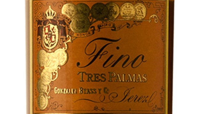 Fino Tres Palmas Colección de Tío Pepe.
