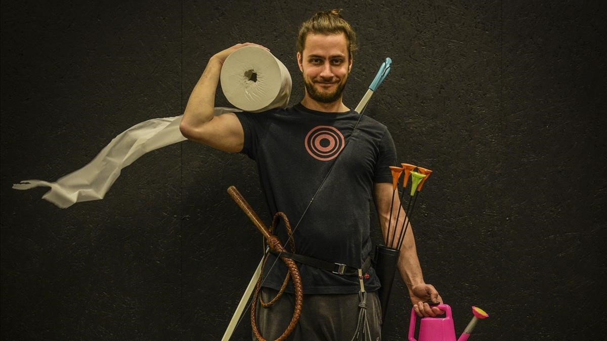 Breaking point, deWeibel Weibel Co, un espectáculo de cuerda floja y humor que triunfó en Tàrrega.