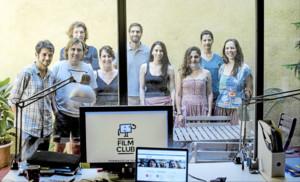Pioners a utilitzar el cine a classe