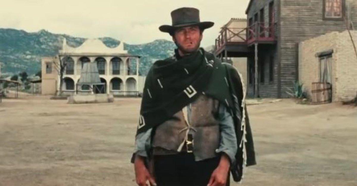 Fotograma de la película 'Por un puñado de dolares'.