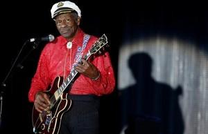 Chuck Berry, durante un concierto en Mónaco en el 2009.