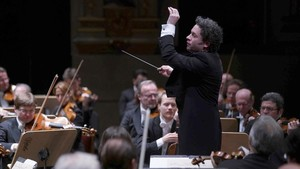 Gustavo Dudamel, al frente de la Filarmónica de Viena.