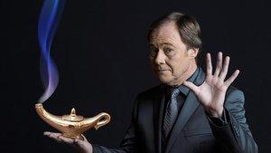 El ilusionista y mago Hausson.
