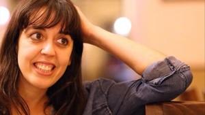 La dramaturga y psicóloga Clàudia Cedó.