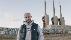 El músico de hip hopSergi Sala, líder del grupo Senyor Oca.