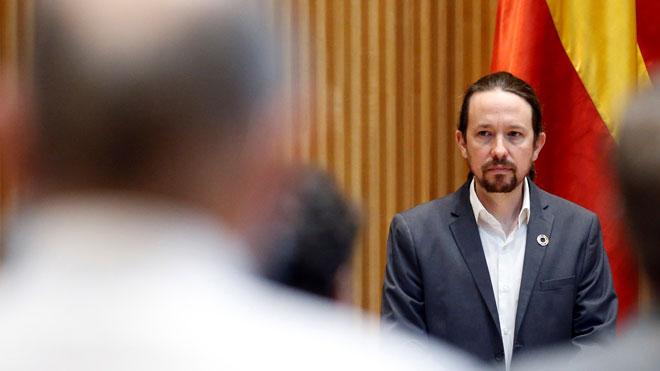 Iglesias acusa a VOX de querer dar un golpe de estado.