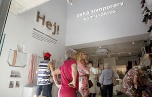 Tienda Ikea Temporary Dormitorios en la calle Serrano(Madrid).