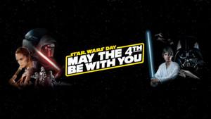 Imagen del Star Wars Day en las redes.