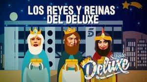 Imagen de la promo de la nueva entrega de Sábado Deluxe.