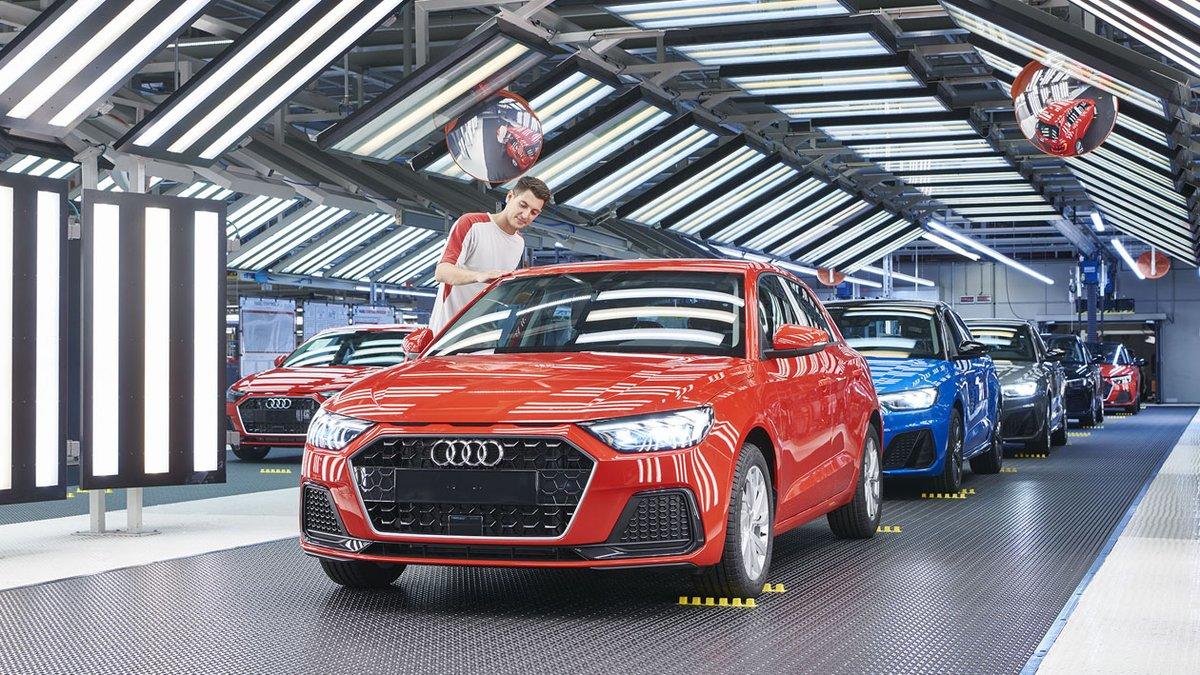 Inicio de la producción del Audi A1 en la planta de Seat en Martorell.