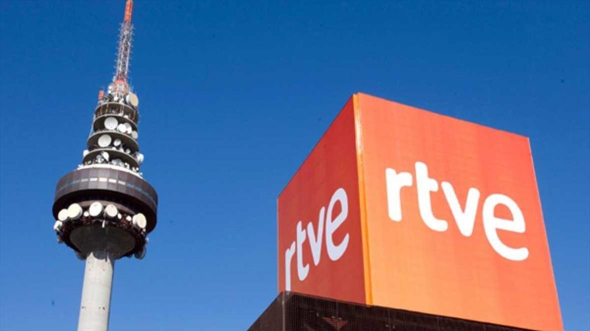 Imagen de las instalaciones de RTVE en Torrespaña (Madrid).