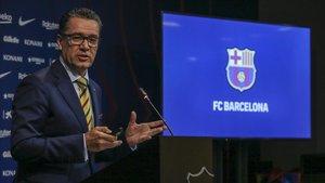 Josep Vives, portavoz del Barça.