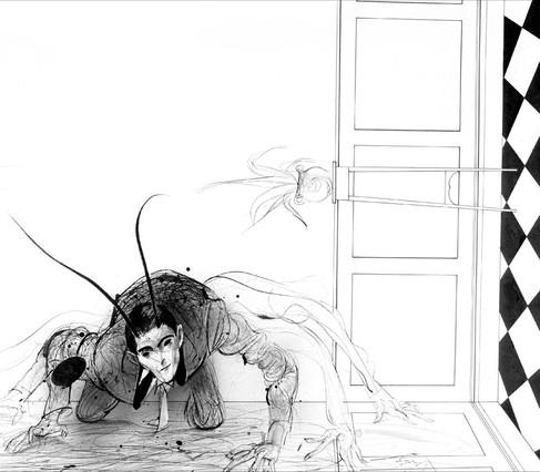Kafka como Gregor Samsa